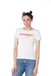 WRANGLER RETRO KABEL TEE ROSEWATER W716SEVLF
