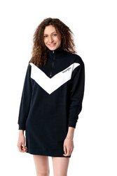 WRANGLER SWEAT DRESS BLACK W9N3HQ100
