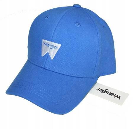 WRANGLER W LOGO CAP DIRECTORIE BLUE W0U5U5XKL